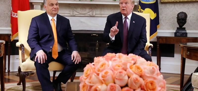 Donald Trumppal tárgyalt Orbán Viktor