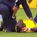 Sérülést színlelve cselezte ki a rendőröket az Everton sztárja - videó