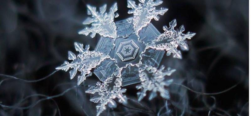 Nincsen fehér karácsony? Nem baj, nézegessen csodás hópehelyfotókat