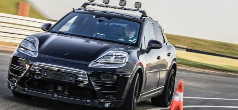 A Porsche most először megmutatta az elektromos Macant