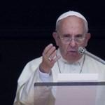 Ferenc pápa a szíriai és az iraki háború beszüntetését kéri a világtól