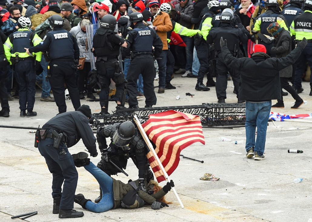 USA NAGYÍTÁS afp.21.01.06. Trump támogatók tüntetése
