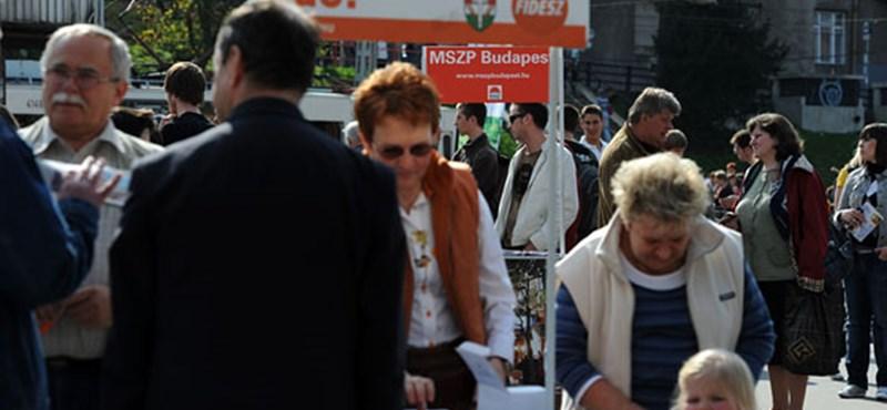 Harcban az idővel a Fidesz jelöltjei