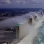 Köd cunami érte el Floridát - fantasztikus képek!