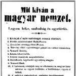 Az 1848-as forradalom és az áprilisi törvények - érettségi tétel