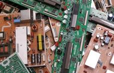 Négyszer több elektronikai hulladékot dob ki egy magyar, mint egy román