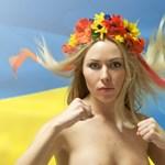 Ukrajna szuperszexi tüntetői mellbedobással harcolnak (18+)