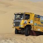 Visszatér a magyar Scania versenykamion a Szaharába