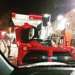Rosberget máris lefotózták egy LaFerrarival