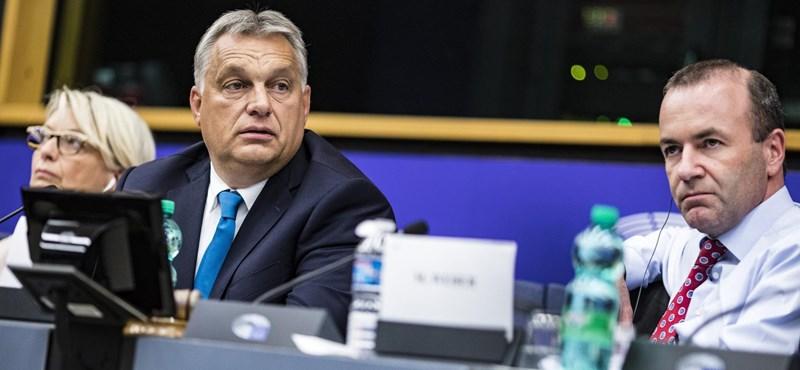 Budapestre jön és személyesen beszél Orbánnal Weber