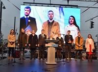 """""""A hatalom csak az erőből ért"""" - videó a Bem téri ellenzéki tüntetésről"""