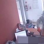 Videón a királyhelmeci OTP kirablása