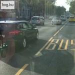 Szétrázza a Váci út a metrópótló buszokat – videó