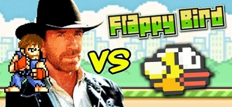 Chuck Norris végzett vele, avagy Flappy Bird-mémek mindenhol