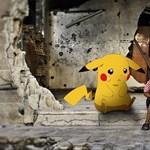 Pokemonokkal várják szír gyerekek a megmentésüket