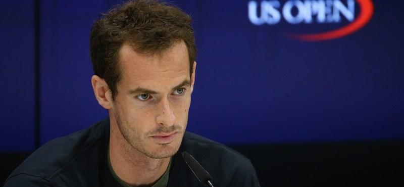 """Andy Murray visszavonul - """"A cipőm és a zoknim sem tudom fájdalom nélkül felvenni"""""""