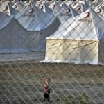 Több szíriai menekülttáborban is pusztítást okozott a heves esőzés