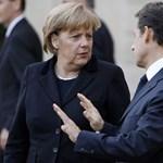 Rólunk is beszélhet egymással Merkel és Sarkozy hétfőn