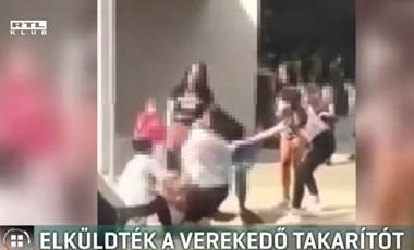 Elbocsátották a pécsi iskola takarítóját, miután megverte az egyik diákot