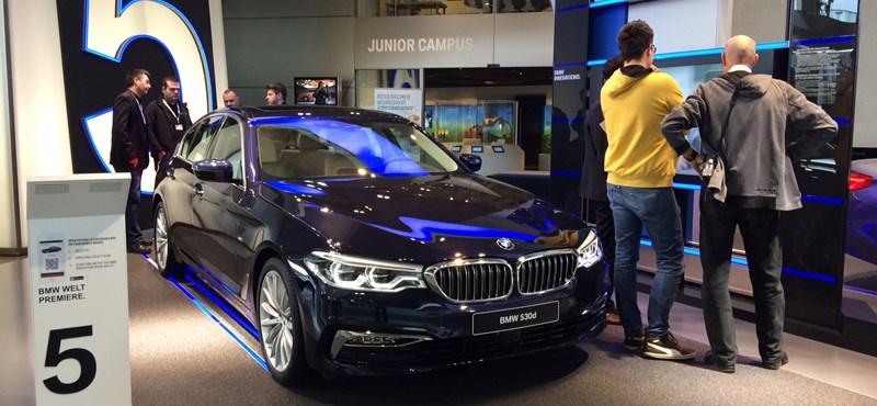 Több mint negyven új modellt dob piacra két év alatt a BMW