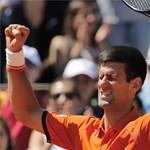 Roland Garros: Djokovic játszik döntőt vasárnap Wawrinkával