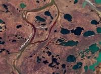 Olyan súlyos az orosz olajszennyezés, hogy az űrből is látni