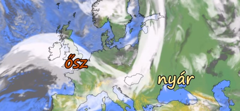 Itt a figyelmeztetés: erős széllel tör ránk az ősz