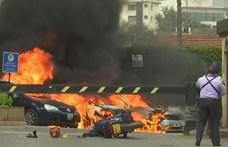 Feltételezett terrortámadás történt egy nairobi szállodában