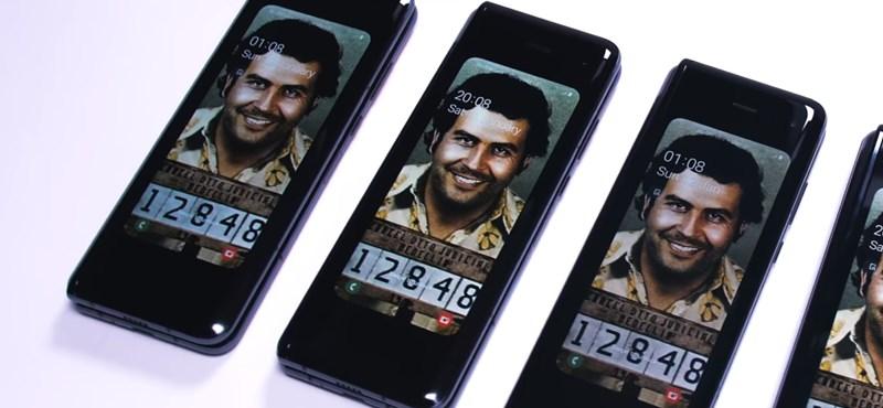 A drogbáró Pablo Escobar testvére hadat üzent a Samsungnak