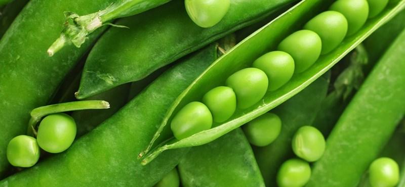Szezonja van: zöldborsó - recept