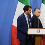 Orbán SMS-ben üzent Salvininek a V4-es vita miatt