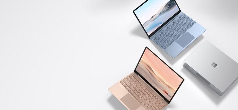 Újfajta olcsó laptoppal jött ki a Microsoft, könnyű, a kijelzője érintésérzékeny