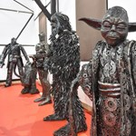 Ez az igazi metál: acél Terminátort és egy csomó fém Star Wars-figurát állítottak ki (fotók)
