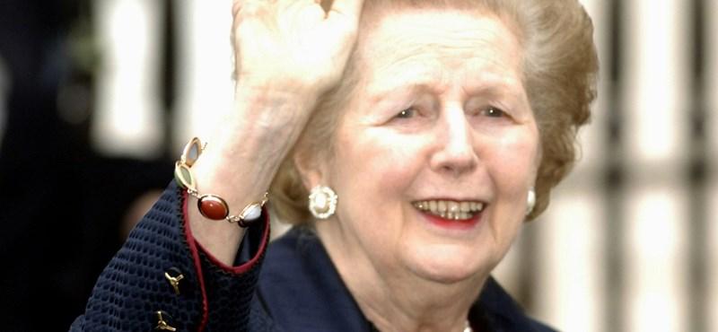 Meghalt Margaret Thatcher