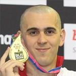 Aranyérmet nyert Cseh Laci 200 méter vegyesen Berlinben
