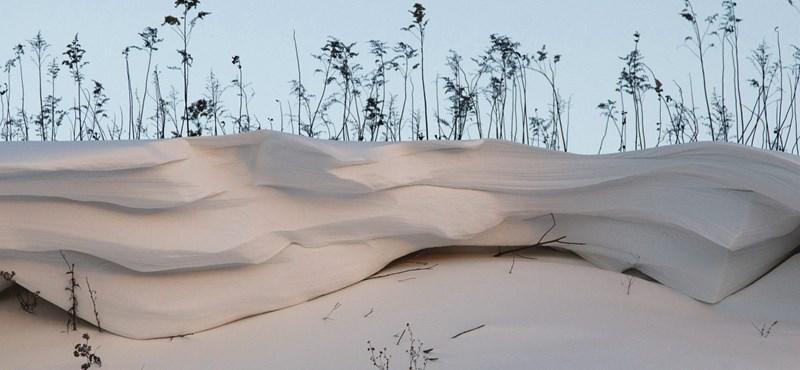 A havazás eláll, de a didergés tovább tart