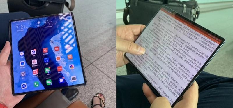 A Huawei sem meri piacra dobni az összehajtható telefonját, tovább csúszik a Mate X