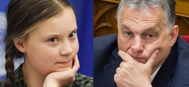 Fülke: Greta Thunberg kiénekelte a sajtot Orbán Viktor szájából