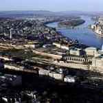 Tavaszi Budapest a levegőből - Nagyítás-fotógaléria