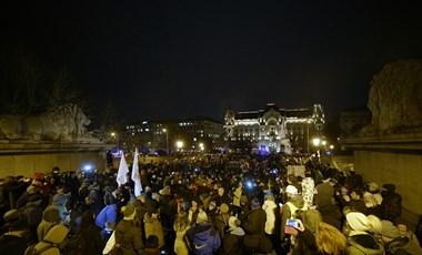 Vidékre koncentráltak a szervezők, ezért voltak kevesebben a szombati tüntetésen a SZEF elnöke szerint