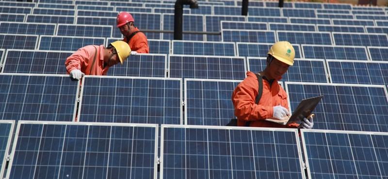 Brutális rekorddal sokkol a német napenergiatermelés