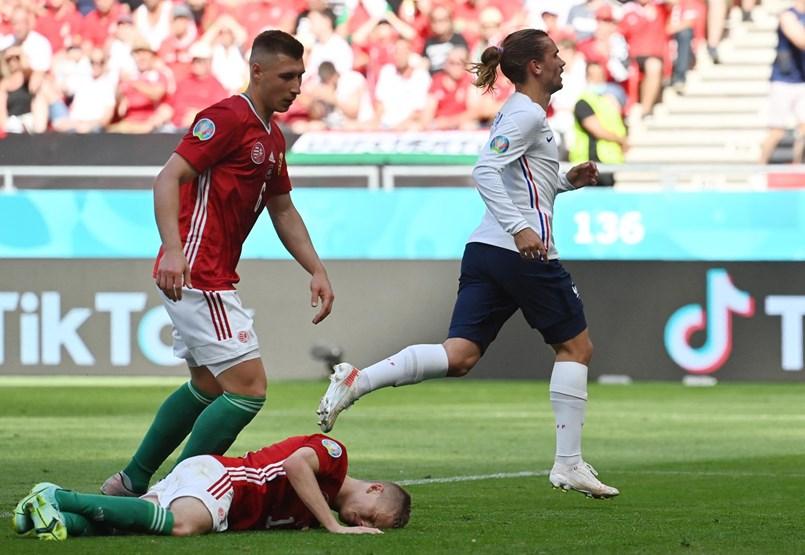 Magyarország – Franciaország 1-1