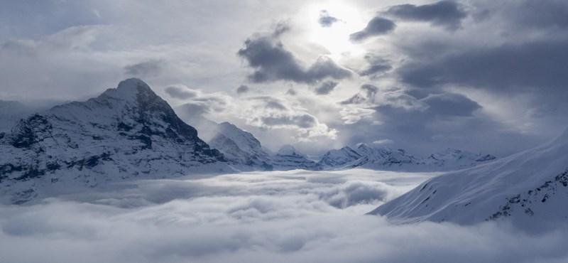 Az Alpok gleccsereinek fele eltűnik 2050-re
