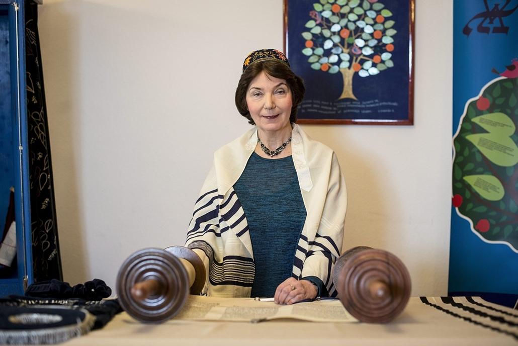 mti.16.03.07. - nemzetközi nőnap - Kelemen Katalin, Magyarország egyetlen női rabbija