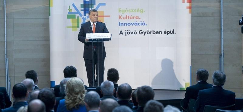 Orbán: egy év múlva sikertörténet lehet a magyar újraiparosítás