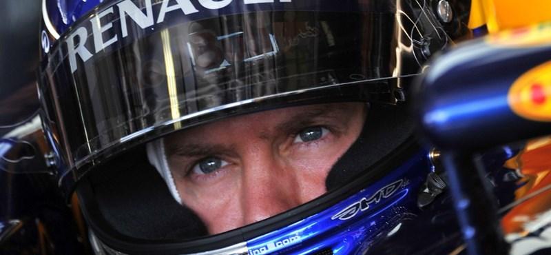 Vettel győzött a harmadik szabadedzésen