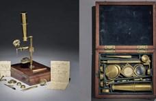 Elárverezik a Darwin-család egyik mikroszkópját, 150 millióba is kerülhet