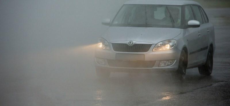 Megint jön a köd, megint jön a figyelmeztetés