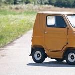 Ilyen elektromos minyonautójuk is volt az olaszoknak a 70-es években