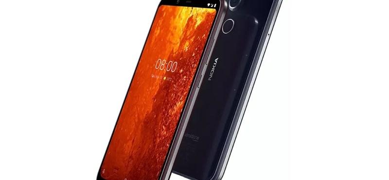 Itt az új Nokia: olcsó mobil 4K-s videórögzítéssel